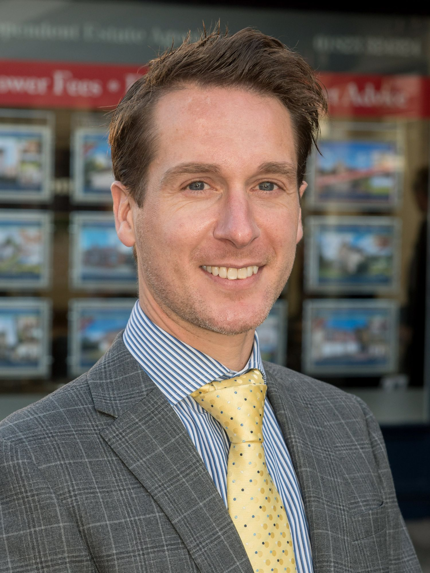 Chris Willey Managing Director of Wilsons Estate Agents Taunton